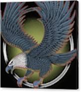 Eagle Illustration  Canvas Print