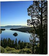 Early Morning Emerald Bay Canvas Print