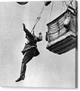 Early Parachute Canvas Print
