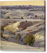 Early Spring Prairie Reverie Canvas Print