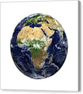 Earth View - Africa Canvas Print