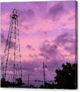 East Texas Oil Derrick Canvas Print