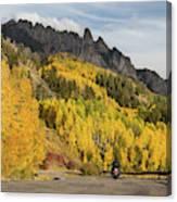 Easy Autumn Rider Canvas Print