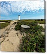 Edgartown Lighthouse Marthas Vineyard Canvas Print