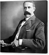 Edward Elgar Studio Portrait Canvas Print