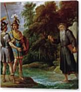 El Mago Descubre A Carlos Y Ubaldo El Paradero De Reinaldo  Canvas Print