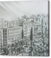 El Mansheya Park - Tripoli Canvas Print