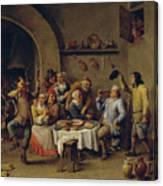 El Rey Bebe   Canvas Print