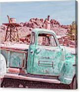 Eldorado Ghost Town Searchlight Nevada Pano Canvas Print