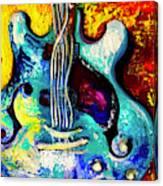 Electric Blue Canvas Print