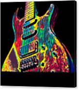 Electric Guitar Musician Player Metal Rock Music Lead Canvas Print