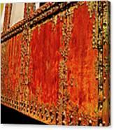 Elegant Rust Number 2 Canvas Print