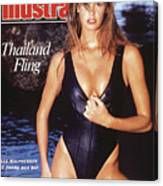 Elle Macpherson Swimsuit 1988 Sports Illustrated Cover Canvas Print