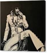 Elvis 1970 - Concho Suit Canvas Print