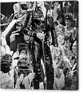 Elvis Presley 68 Comeback Special Canvas Print