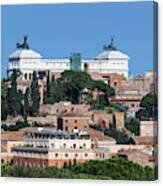 Emanuele II Monument Canvas Print
