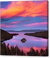 Emerald Bay Explode Canvas Print