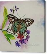 Enchanting Butterfly Canvas Print