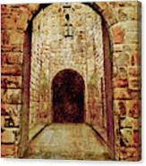 Enter Medieval Canvas Print