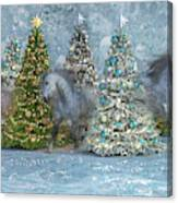 Equine Holiday Spirits Canvas Print