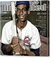 Ernie Banks, 1931 - 2015 Special Tribute Issue Sports Illustrated Cover Canvas Print