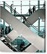 Escalator Canvas Print