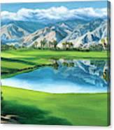 Escena Golf Club Canvas Print