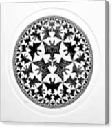 Escher 66 Canvas Print