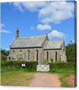 Escot Church Canvas Print