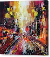 Evening Avenue Canvas Print
