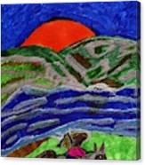 Evening Ride Canvas Print