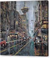 Evening Traffic II Canvas Print