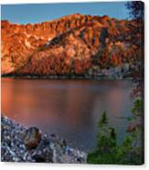 Everson Lake Canvas Print