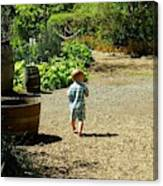 Explore, Edgefield Garden Canvas Print