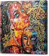 Expressions  Canvas Print