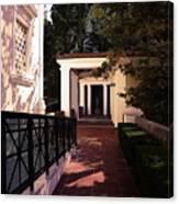 Exterior Amazing Getty Villa  Canvas Print
