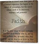 Faith 6976 Canvas Print