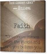 Faith 8002 Canvas Print