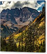Fall At Maroon Bells Canvas Print