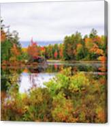 Fall In Nh Canvas Print
