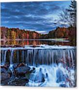 Fall In The Hudson Valley  Canvas Print