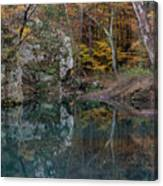 Fall In The Ozarks Canvas Print