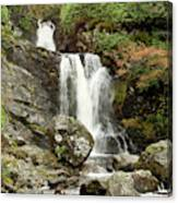 Falls At Inversnaid In Autumn Canvas Print