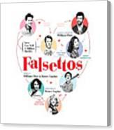 Falsettos Canvas Print