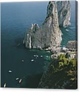 Faraglioni Rocks Canvas Print
