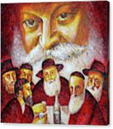 Farbrengen With The Rebbe Canvas Print
