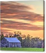 Farm From Beyond 2 Canvas Print