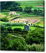 Farm Houses Canvas Print