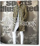 Fashionable 50 Oklahoma City Thunder Guard Russell Westbrook Sports Illustrated Cover Canvas Print