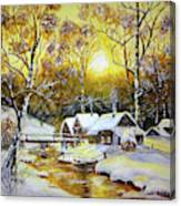 Feerie Winter Canvas Print
